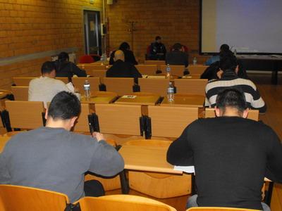 Esami NSCA 8-9 febbraio 2014 :al nastro di partenza 33 partecipanti all'esame CPT e 23 al CSCS.